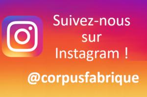 Suivez-nous sur Instagram !